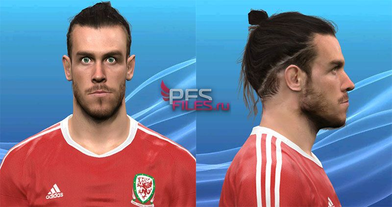 Pes 2017 G.Bale face by Huseyn