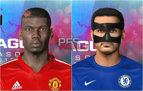 Pes 2017 Face Pogba and Pedro