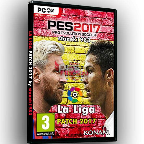PES 2017 LaLiga Patch 5.00 AIO by stanek1983