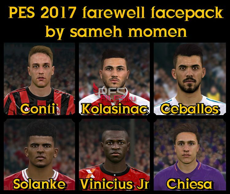 Pes 2017 L Moura Face By Sameh Momen: PES 2017 Farewell Facepack By Sameh Momen, патчи и моды