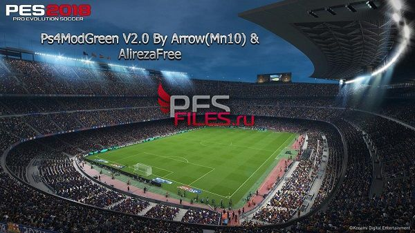 PES 2017 PS4ModGreen 2.0 by Arrow(Mn10) and AlirezaFree
