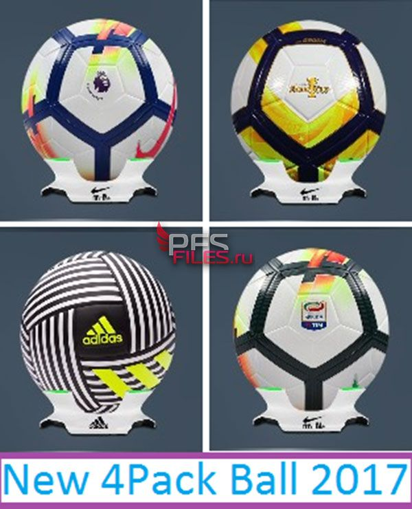 Pes 2017 4Pack Ball 17-18 by Eslam