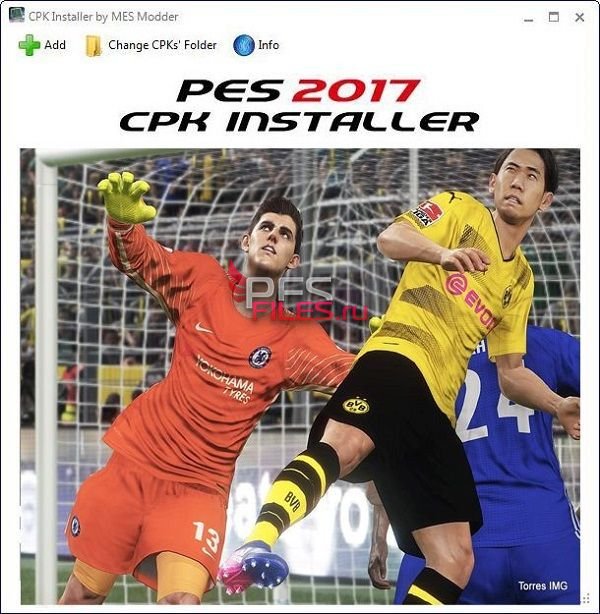 PES2017 CPK Installer (Version 1.1.2) - FIX to Version 1.1