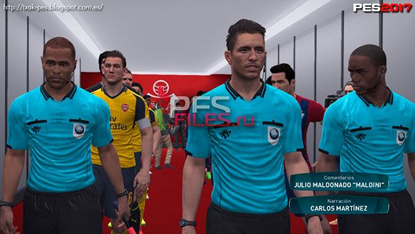 PES 2017 Ipurua Tunnel Entrance
