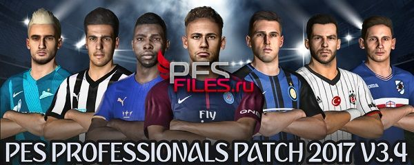 PES 2017 Option File Update Transfer PES Professionals V3.4