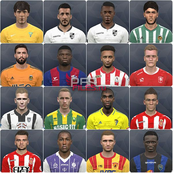 Pes 2017 Internarional facepack vol. 17