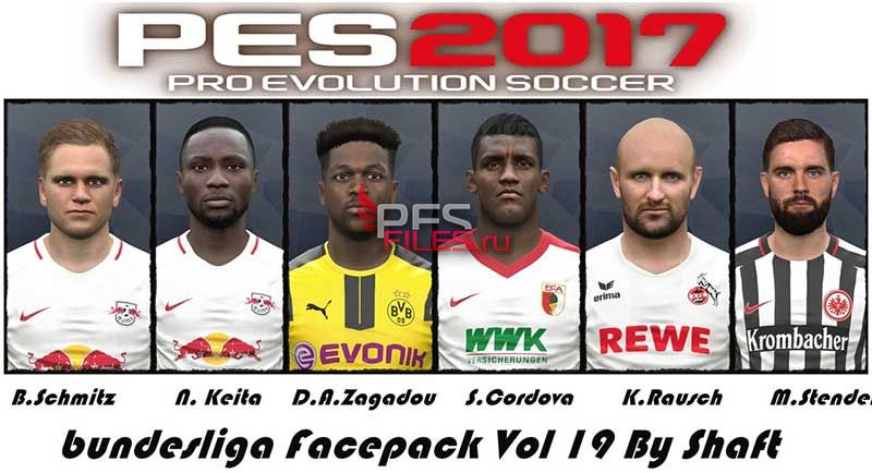 Pes 2017 Bundesliga Facepack Vol 19