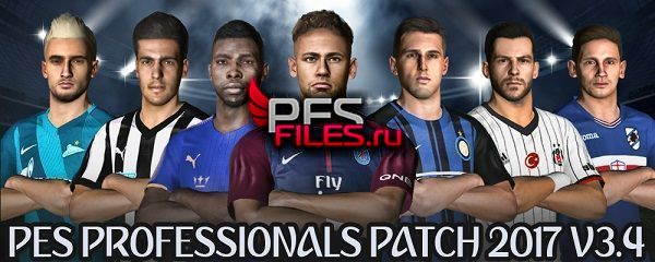 PES 2017 Option File Pes Professionals Patch 2017 V3.4