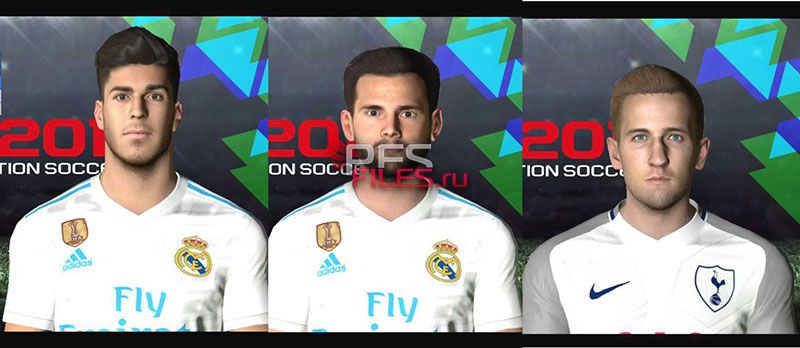 PES 2018 Facepack V2 for PES 2017