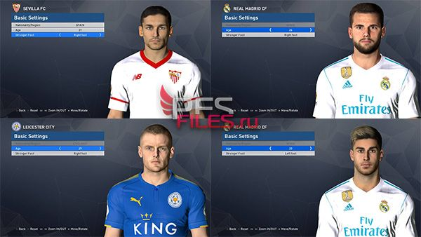 Pes 2017 Facepack by Shenawy