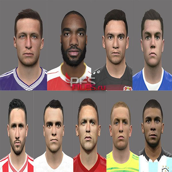 Pes 2017 New Facepack by Rednik