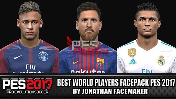Pes 2017 Best World Players Facepack