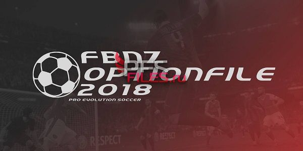 PES 2018 FBNZ OptionFile 2018 Version 1.5 ALL in One