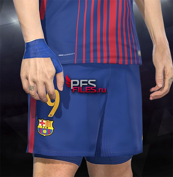 PES 2018 Luis Suarez Strapping by Hawke