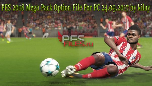 PES 2018 Mega Pack Option File For PC