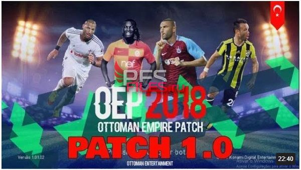 PES 2018 Ottoman Empire Patch18 V1 by TQA Official