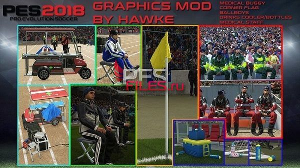 PES 2018  Graphics Mod By Hawke