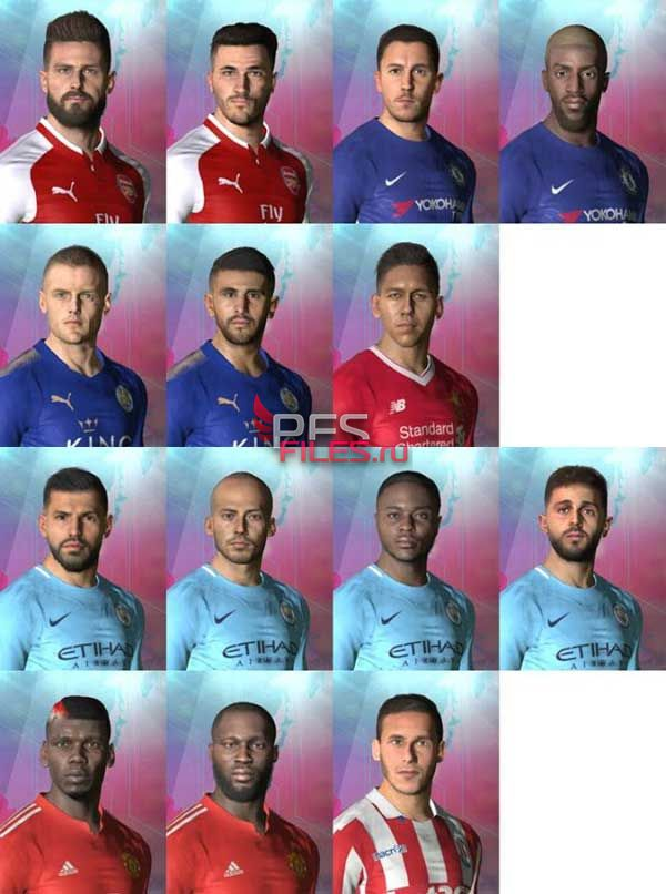 PES 2017 Repack Facepack Premier League