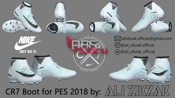 PES2018 CR7 Boot