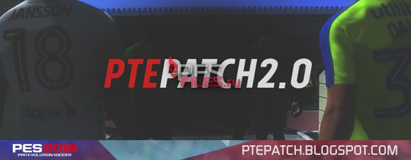 PES 2018 PTE Patch 2018 2.0