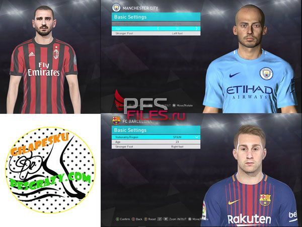 PES2018  Face Collection by Shenawy