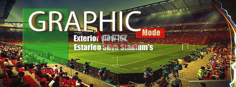 PES 2017 Graphic Mode and Exterior View for Stadiums V1