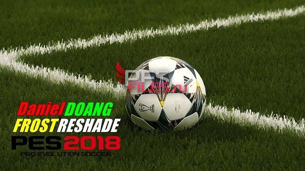 Frost Reshade PES 2018 by Daniel Doang