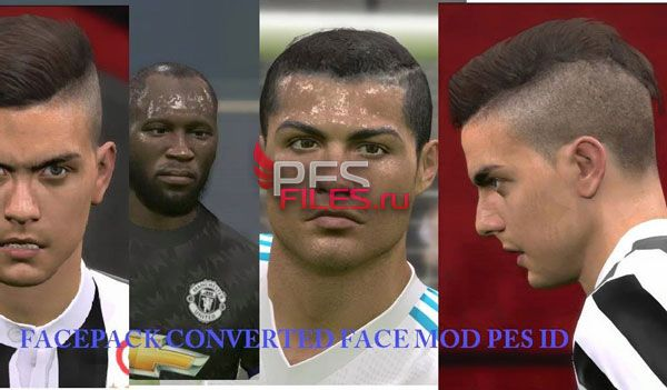 PES 2017 CR7, Lukaku and Dybala Face