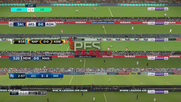 Default Scoreboards TV Logo PES 2018