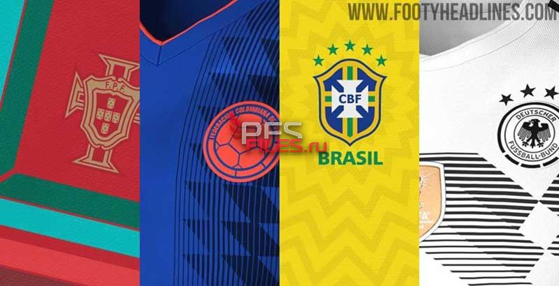 PES2017 FIFA World Cup 2018 Kitpack