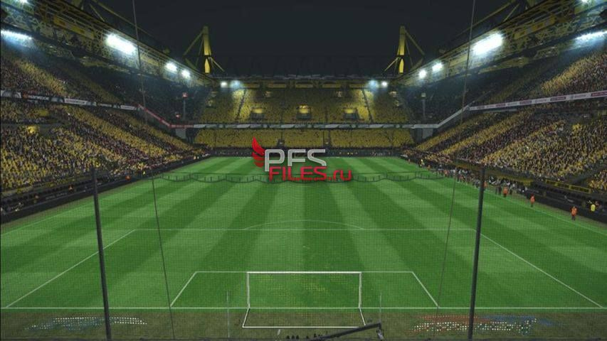 Signal Iduna Park Converted from PES 2018 For PES 2017