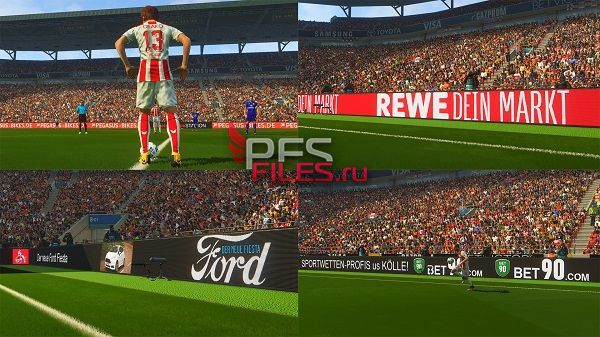 PES 2018 New Adboard Pack for ADD ON v.8.0