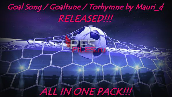 PES 2018 PC Goal Songs Pack