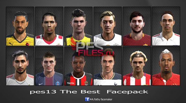 Pes 2013 The Best Face Pack
