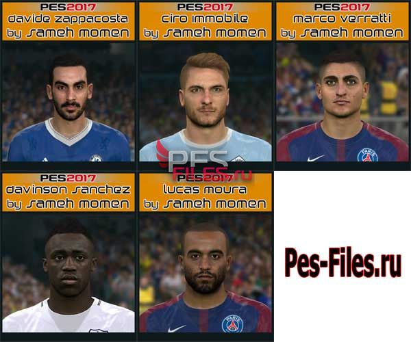 Pes 2017 Big Facepack by Sameh Momen