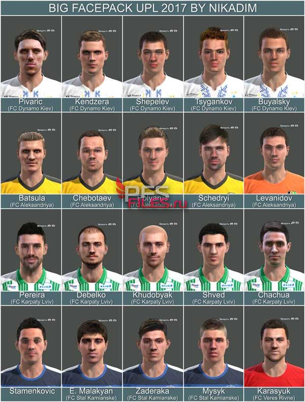 Pes 2013 Big Facepack UPL 2017