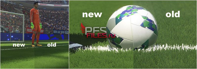 Realistic 3D Grass For PES 2018