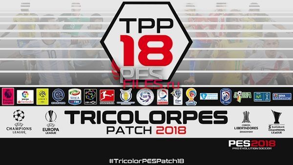 PES 2018 TricolorPES Patch 2018 v1.0