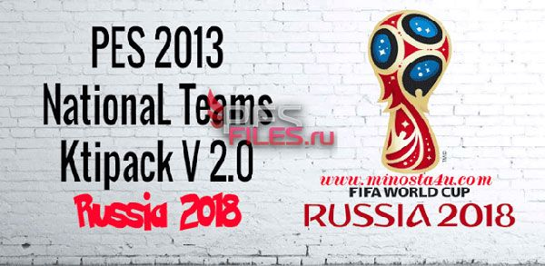 PES 2013 World Cup Russia 2018 Kitpack