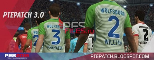 PES 2018 PTE Patch 2018 3.0 AIO
