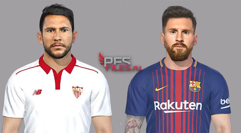 Pes 2018 Messi and Walter Montoya