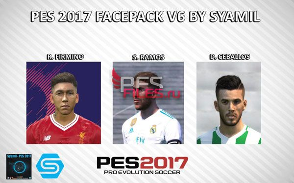 Faces Pack Volume 6 For PES 2017 PC