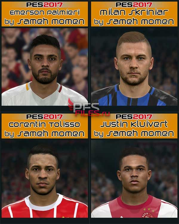 Pes 2017 New Big Facepack