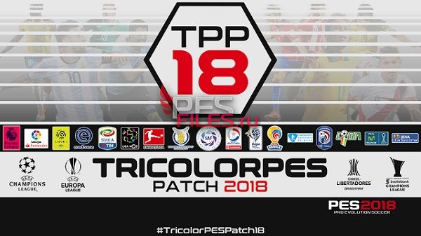 PES 2018 TricolorPES Patch 2018 v1.1