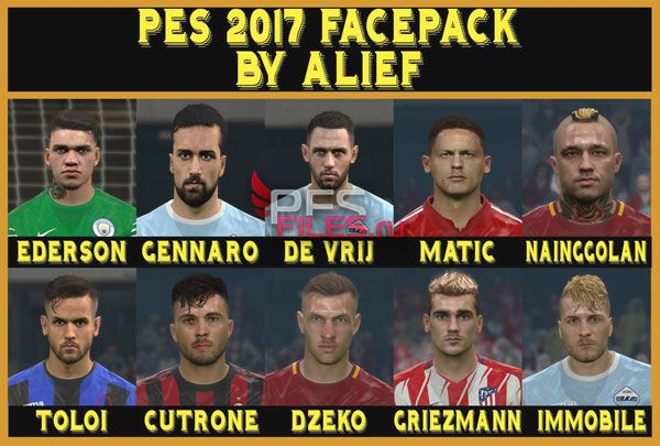 Pes 2017 Happy New Years facepack