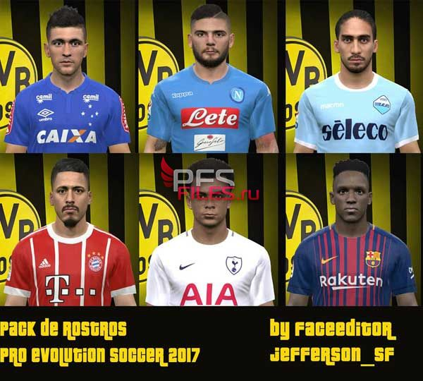 PES 2017 Facepack by Jefferson_SF
