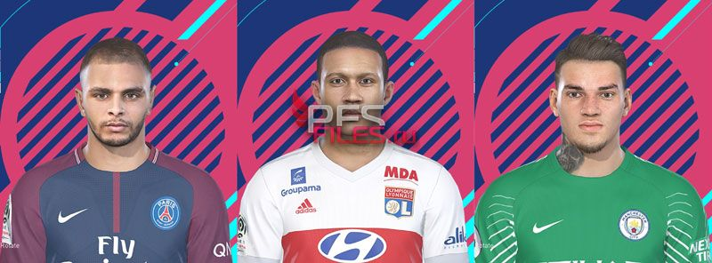 PES 2018 Facepack Vol 1