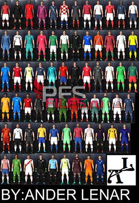 PES 2017 Kits Nations 2018