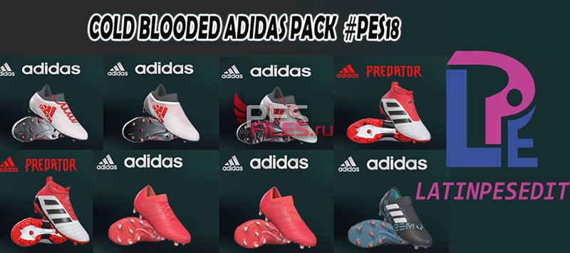 PES 2018 Adidas Cold Blooded Pack 2018