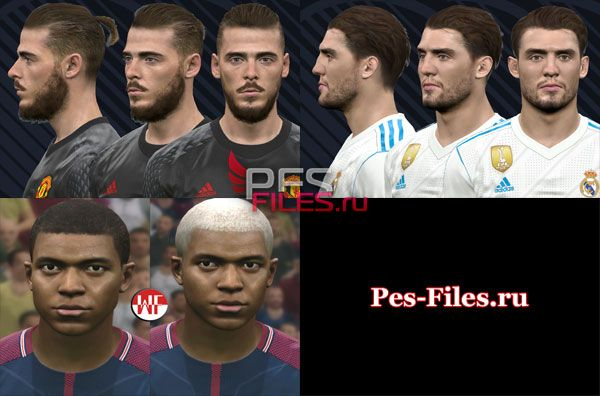 Pes 2017 New Facepack by WER Facemaker